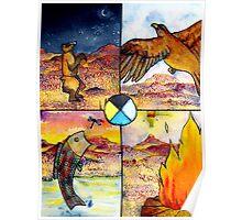 Four Mountains Poster