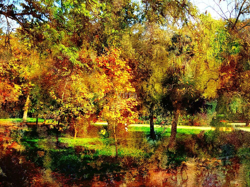 Autumn in The Park.Colors. by Vitta
