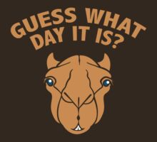 Guess What Day It Is? Hump Day ! by BrightDesign