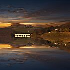 Sunset Reflections by Nigel Hatton, Derwent Digital Imaging