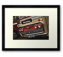 Classic Vehicles - AEC Omnibus Framed Print