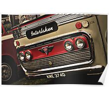 Classic Vehicles - AEC Omnibus Poster
