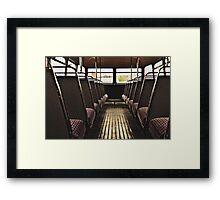 Classic Vehicles - Take a Seat Framed Print