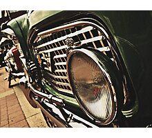 Classic Vehicles - Light It Up Photographic Print