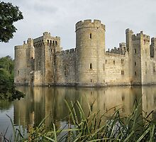 Bodiam Castle by Judi Lion
