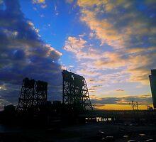 Lift Bridge - Newark by James Aiken