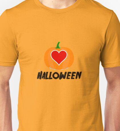 Love Halloween  (T-SHIRT & STICKER) Unisex T-Shirt