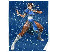 Street Fighter Chun Li Stars Poster