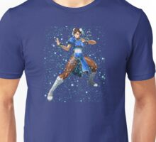 Street Fighter Chun Li Stars Unisex T-Shirt