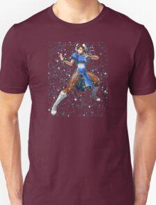 Street Fighter Chun Li Stars Unisex T-Shirt