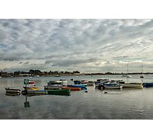 Emsworth on a winter day Photographic Print