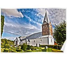 Møgeltønder Kirke. (View in large) Poster