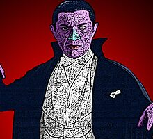Dracula Bela Lugosi Culture Cloth Zinc Collection by CultureCloth
