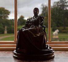 A woman bronze figure by jasminewang