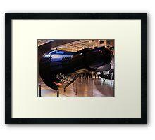 Mercury capsule replica Framed Print
