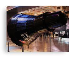 Mercury capsule replica Canvas Print