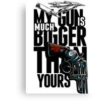 Gun Canvas Print
