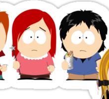 Buffy the Vampire Slayer as South Park Sticker