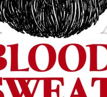 Blood, Sweat and Beards Sticker