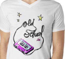 old school Mens V-Neck T-Shirt