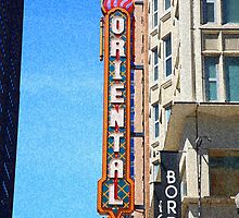 "Oriental Theater with ""Sponge Painting"" Effect by Frank Romeo"