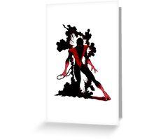 Nightcrawler X-Men III Greeting Card