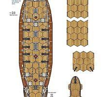 Wargaming Ship Plan 6 HMS Skydiver by Radwulf