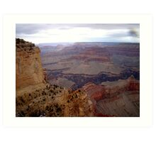 Grand Canyon As Far As The Eye Can See Art Print