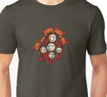 The devils and the maidens Unisex T-Shirt