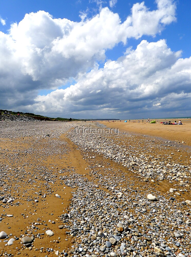 Arromanches Beach by triciamary