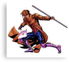 Gambit Xmen Canvas Print