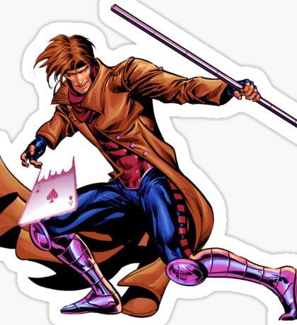 Gambit Xmen Sticker