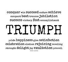 triumph~ Photographic Print