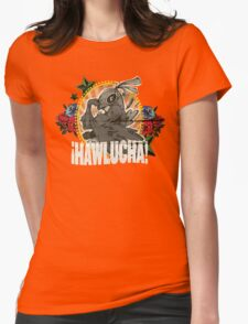 Hawlucha To-Go! Womens Fitted T-Shirt