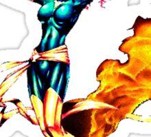 Phoenix Jean Grey Pixelated (Fire) Sticker
