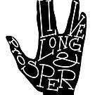 Typography: Live Long & Prosper by Sarah Hendricks