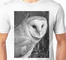 Barn Owl (Tyto alba) Unisex T-Shirt