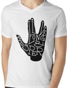 Typography: Live Long & Prosper T-Shirt
