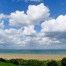 Colleville-sur-Mer view by triciamary