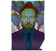 Conan O'Brien Culture Cloth Zinc Collection Poster