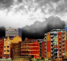 Stormy City by Christine Lake