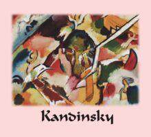 Kandinsky - Deluge Kids Clothes