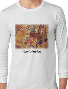 Kandinsky - Dream in Red Long Sleeve T-Shirt