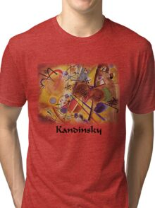 Kandinsky - Dream in Red Tri-blend T-Shirt