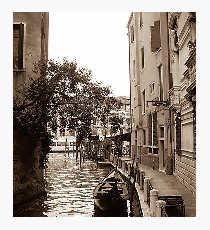Empty Gondola  Photographic Print