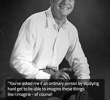 Richard Feynman by raymestalez