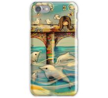 Dolphin Pier iPhone Case/Skin