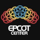 Epcot Center Rainfall White Logo by AngrySaint