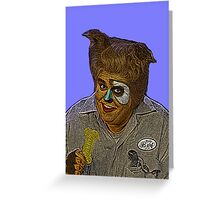 John Candy Space Balls Barf by Culture Cloth Zinc Collection Greeting Card
