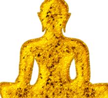 Buddha Meditation, Lotus Flower, Anahata, Heart Chakra Sticker